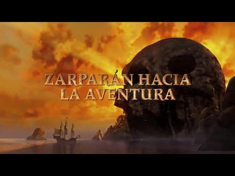 Campanilla: Hadas y piratas Trailer 2014 Español