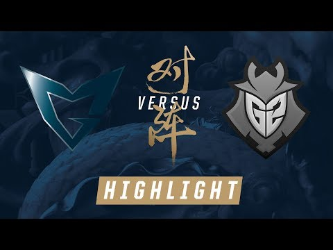 SSG vs G2 Worlds Group Stage Match Highlights 2017