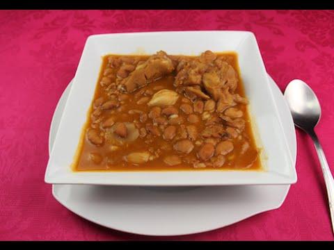 Jud as pintas con arroz las recetas de pepa youtube - Arroz con judias pintas ...