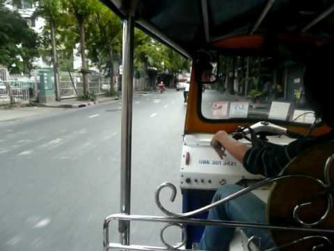 Tuk Tuk ride in Bangkok Part 1