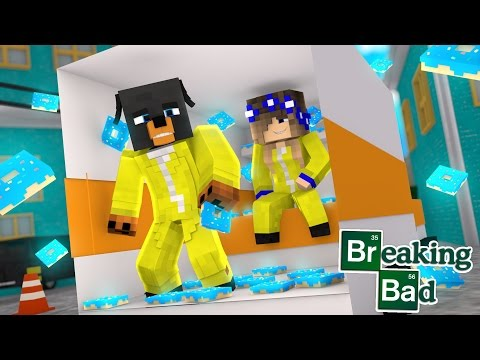 Minecraft - Donut the Dog Adventures -BREAKING BAD - LITTLE CARLY AND DONUT BREAK THE LAW!!!!