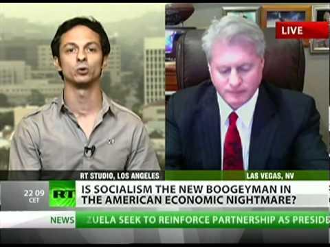 Libertarian vs. Socialist heated debate ensues