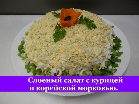 с курицей рецепты с фото простые и вкусные