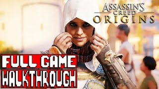 ASSASSIN'S CREED ORIGINS Gameplay Walkthrough Part 1 FULL GAME (Xbox One X) No Commentary