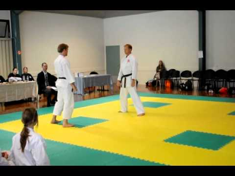 Chito-Ryu Karate Bunkai Demonstration.AVI