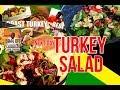 The Best Leftover Turkey Salad,ROAST TURKEY SALAD RECIPE BY | Chef Ricardo Cooking