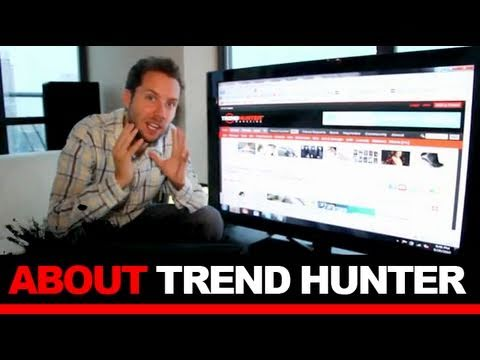 ABOUT TREND HUNTER - Celebrity Intros, Team, Internships and About Us