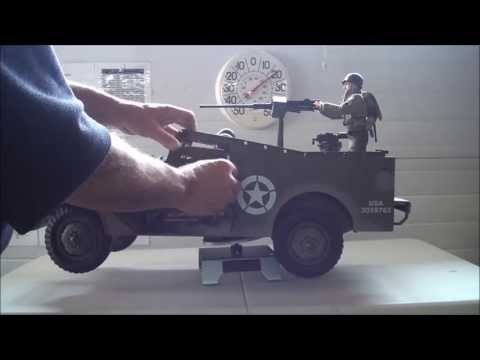 1/6 scale RC WW2 US M2 Scout Car .