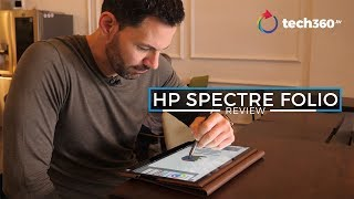 HP Spectre Folio Review: Is Leather Better?