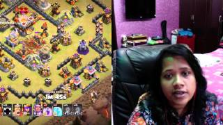 clash with K episode 2 th 11 vs th 11 war attack with max valk (Bangla)