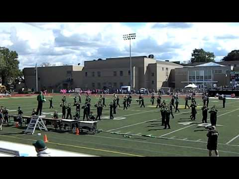 2012 St Edward High School Marching Band Football Show - Give Me Everything Tonight