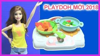 Thử Chơi Bộ Đồ Chơi Playdoh Làm Bếp 2018 playdoh kitchen playset - đồ chơi Mỹ