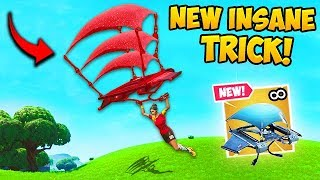 *NEW* VERY OP GLIDER TRICK!! - Fortnite Funny Fails and WTF Moments! #597