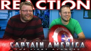 Captain America The First Avenger Honest Trailer REACTION!!
