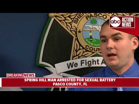 Man lured young girls on app, had sex with 12YO | Pasco Sheriff press conference