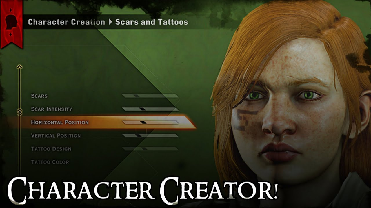 Dragon Age Inquisition Characters Creation Dragon Age Inquisition Master