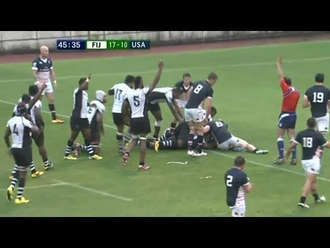 Fiji defeats USA in Pacific Nations Cup - Universal Sports
