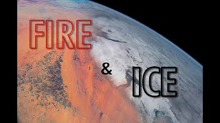 Fire and Ice: 🌍 4K Earth From Space Video - From the Sahara Desert To Kazakhstan