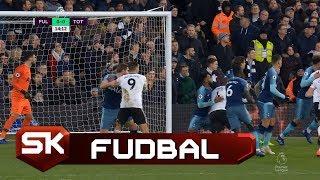 Sudija nije Svirao Očigledan Penal Nad Mitrovićem | Fulam - Totenhem | SPORT KLUB Fudbal