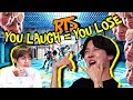 "download lagu      BTS ""You Laugh = You Lose"" Challenge [Ultimate Version]    gratis"