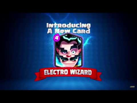 Clash Royale: Introducing The Electro Wizard