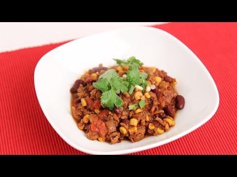 Homemade Turkey Chili Recipe   Laura Vitale   Laura In The Kitchen Episode 705