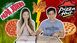 PIZZA HUT VS PAPA JOHN'S EN PERÚ (¿QUIÉN GANA?)    DesbalanceAdos