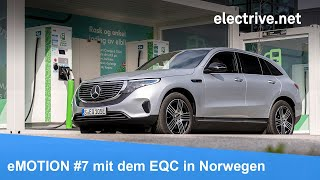 eMOTION #7 mit dem Mercedes-Benz EQC in Norwegen (Fahrbericht, Elektro-Feeling, Interviews)