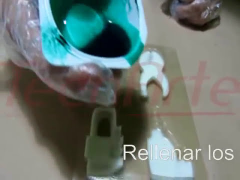 Cómo copiar piezas en resina de poliuretano rápido