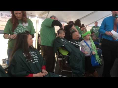 Garner High School St. Baldrick's Day Team 2014