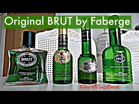 Original BRUT Aftershave by Faberge