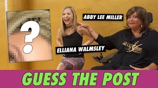 Abby Lee Miller vs. Elliana Walmsley - Guess The Post