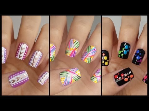 Easy Nail Art For Beginners!!! #13 | Missjenfabulous video