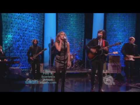 Pete Yorn and Scarlett Johansson on The Ellen Show performing