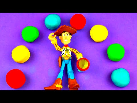 Toy Story Play-doh Surprise Eggs With Woody Cars 2 Lalaloopsy Littlest Pet Shop Angry Bird Fluffyjet video