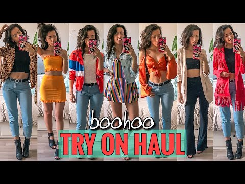 Mein erster BOOHOO HAUL   10 Teile kombiniert in Outfits   Online Shop Review