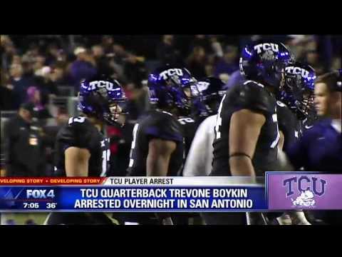 TCU's Trevone Boykin arrested