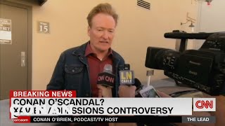 Conan Denies His Involvement In The Xavier Institute Admissions Scandal - CONAN on TBS