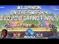 My Opinion About The Smash 4 Grand Finals At Evo 2018