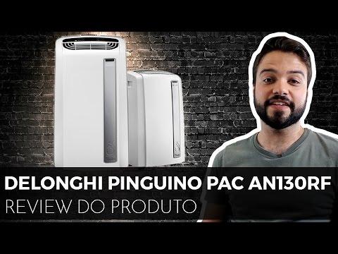 DeLonghi Pinguino Silent   PAC AN130RF   Ar Condicionado Portátil bão! [Análise!]