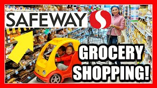 SHOP WITH ME AT SAFEWAY! Grocery Shopping