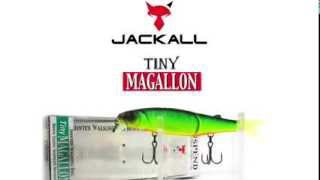 Воблер Jackall Tiny Magallon  Underwater Lure Action