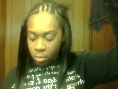 MY FIRST HAIR VIDEO!!!!! L SHAPED SEW IN!!