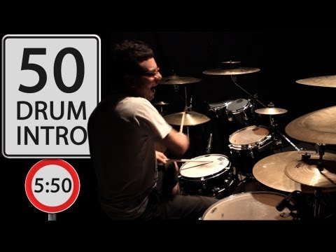 Vadrum - Drum Intro Medley (50 Drum Intros in 5:50!)
