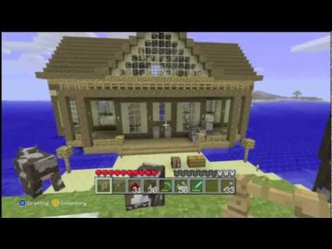 how to make a mansion on minecraft xbox 360 computer