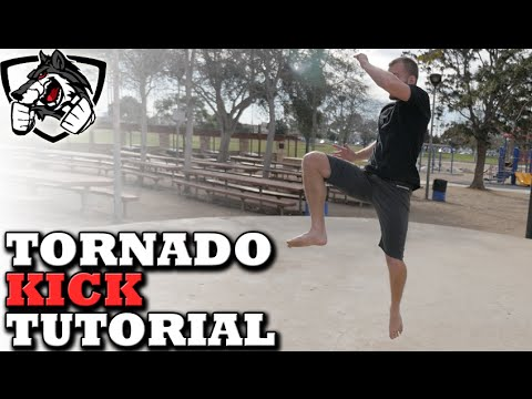 How To Tornado Kick Like Conor McGregor: TKD For MMA