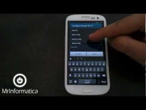 Usare uno smartphone Android come router WiFi