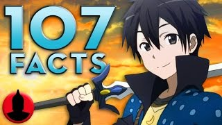 107 Sword Art Online (SAO) Anime Facts YOU Should Know - (107 Anime Facts S1 E10) - Cartoon Hangover
