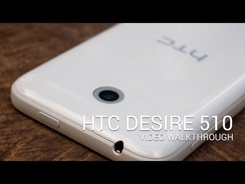 HTC Desire 510 hands-on