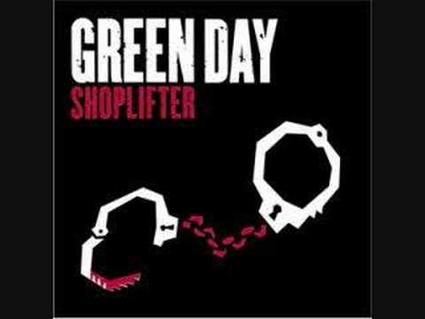 Green Day - Shoplifter